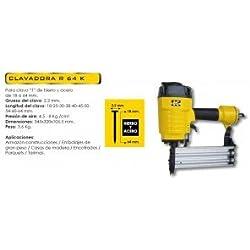 clavadora neumatica para rodapie Cevik R64K Clavadora para clavo de acero y hierro de 18 a 64 mm.