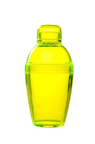 Fineline Settings Quenchers Yellow 7 oz. Cocktail Shaker 24 Pieces by Quenchers -
