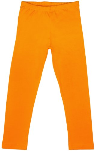 Big Girls Leggings Orange Yellow 3XL (Weiße Big Kids Kleidung)
