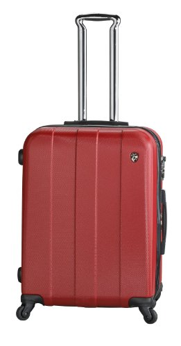 ... 50% SALE ... PREMIUM DESIGNER Hartschalen Koffer - Heys Crown Elite V Blau - Trolley mit 4 Rollen Medium Rot