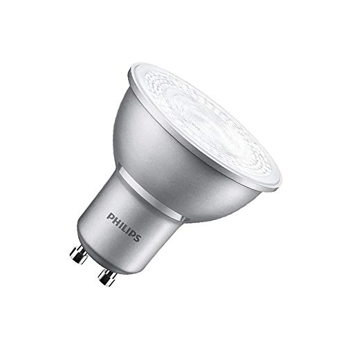 Bombilla LED GU10 Regulable PHILIPS MASTER spotMV 4.3W 40° Blanco Neutro 4000K efectoLED