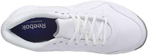 Reebok Damen Work N Cushion 2.0 Sneakers Weiß (White/Flat Grey)