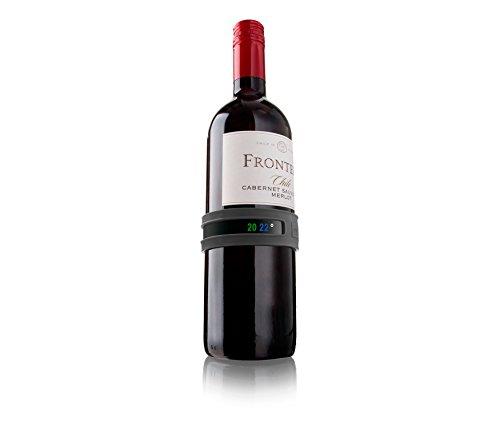 Vacu vin 3630360 Weinthermometer, Grau