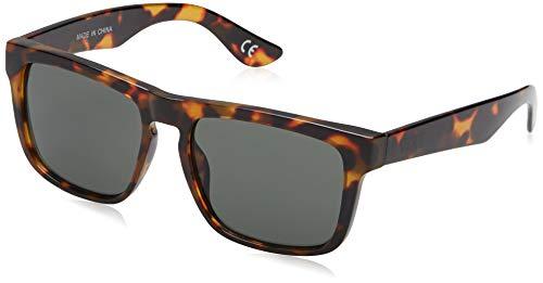 Vans Herren SQUARED OFF Sonnenbrille, Braun (Cheetah Tortoise-Dark Green), 50