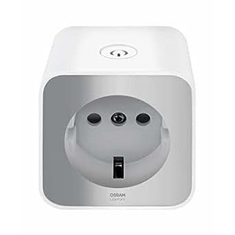 OSRAM LIGHTIFY Plug / Schaltbare Steckdose als Schnittstelle für die Erweiterung des LIGHTIFY-Systems durch Einbindung herkömmlicher Leuchtmittel / Kompatibel mit Alexa