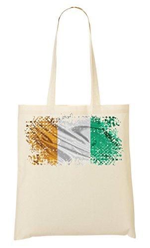 Coast Africa Abidjan Country Series Nationality Flag Nice To Tragetasche Einkaufstasche