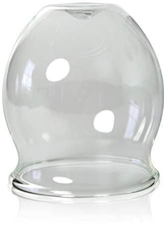 Feu-professionnel ventouse de 70 mm, saugglas schröpfkopf, déboucheur à ventouse), ventouse, cloches en verre, lauschaer verre original