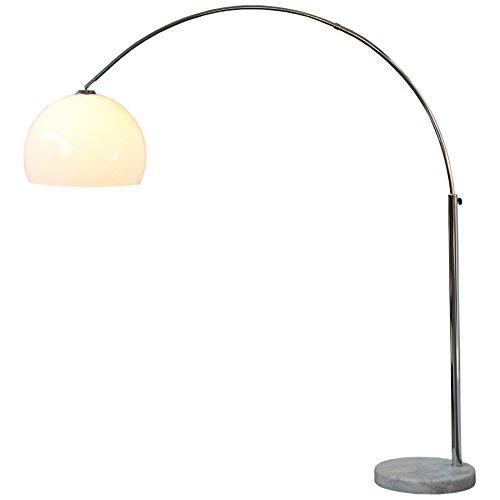Design Bogenlampe mit Marmorfuß thumbnail