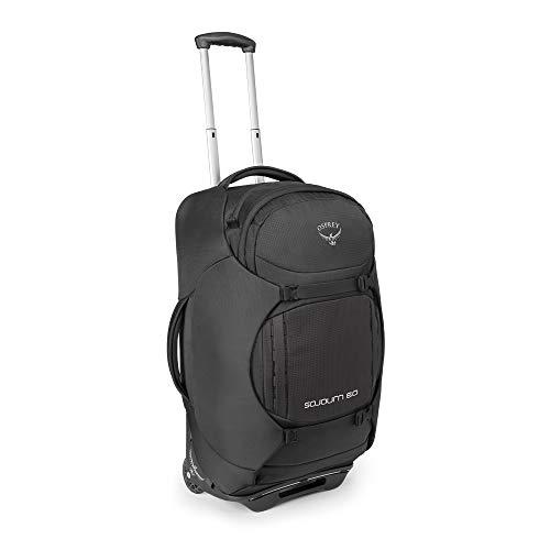 Osprey Sojourn 60 Reisetasche mit Rollen, unisex - Flash Black (O/S) - Samsonite Nylon-schulter-bag
