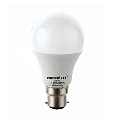 Moserbaer 14 Watt Led Bulb Pack Of 3 Cool Day Light