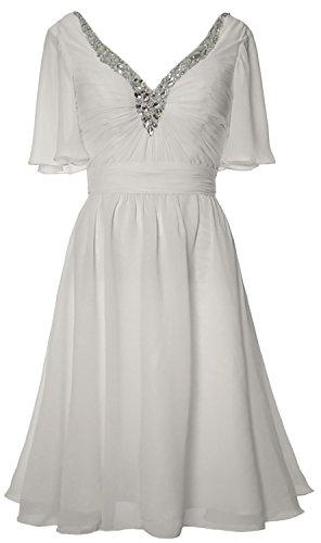 MACloth - Robe - Femme Blanc