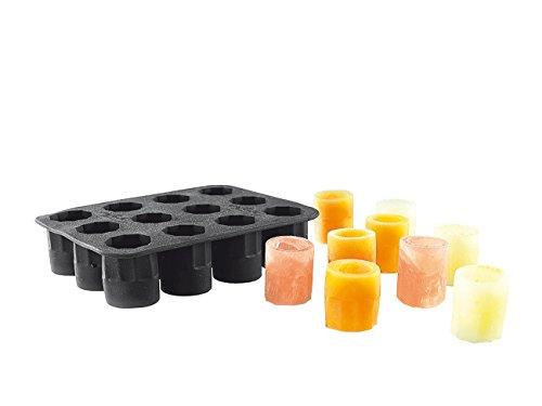 infactory Silikon Eisform für Schnapsgläser aus EIS Eiswürfel