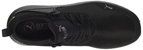 Puma Pacer Next Cage, Sneakers Basses Mixte Adulte Noir (Puma Black-puma Black)