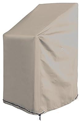 GardenMate® OXFORD Polyester Schutzhülle für Gartenstühle 65 x 65 x 80/120 cm - Premium Qualität aus hochwertigem 220GSM Oxford Polyester Material von GardenMate® bei Gartenmöbel von Du und Dein Garten