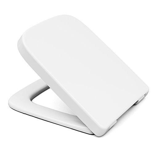 Preisvergleich Produktbild bath & more WC-Sitz Baltrum, Edelstahlscharniere, 1 Stück, weiß, 150010590