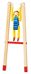 Reckturner Clown Linoh: H= 23 cm, Holz, per Stück