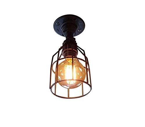 Deckenleuchten Lampen Kronleuchter Pendelleuchten Retro Lichtindustrial Vintage Pendelleuchte Wasserpfeifen mit Ventil Akzent Stil Kronleuchter Rustikal Hängende Beleuchtung Dekorative Leuchte 4 Lich -