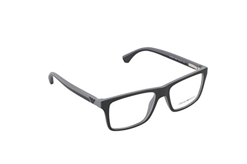 Ray-Ban Herren 0EA3034 Brillengestelle, Schwarz (Black/Rubber Grey), 52
