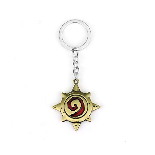 HDCooL Game Logo Edition Blizzard Warcraft Keychain Pendant Christmas Thanksgiving Gift for Couple Best Friends