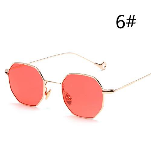 KCJKXC Retro Runde Brillengestell Für Frauen Männer Kreis Metallrahmen Brillen Klare Linse Brillen Frauen