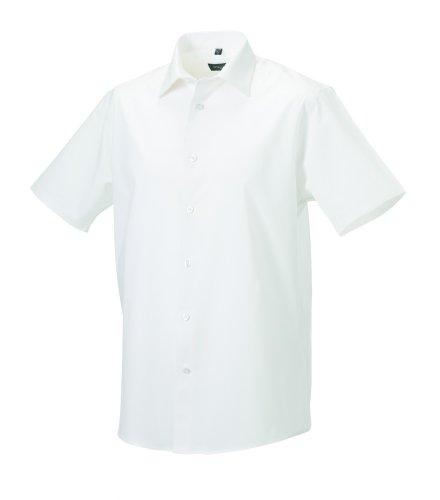 Z947M Russell Collection Körperbetontes Herrenhemd / Kurzarm (auch in Übergrößen) Port