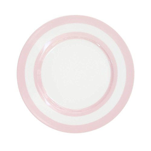 Krasilnikoff Assiettes Stripes Rose