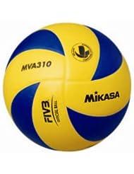 MIKASA Hallenvolleyball MVA 310, mehrfarbig, 5