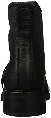 G-STAR RAW Leon Boot, Bottes Motardes Femme Noir (Black 990)