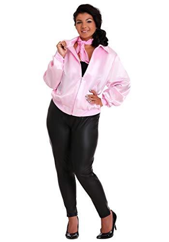 Grease Plus Size Pink Ladies Jacket 5X