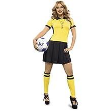 Disfraz de Árbitro de fútbol para mujer talla M-L