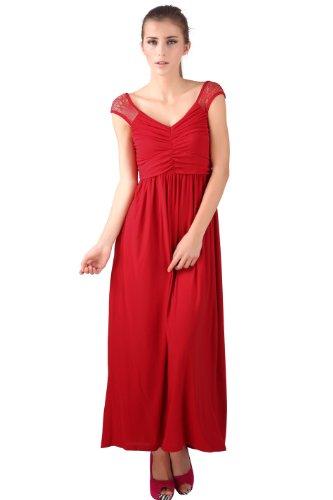 Donna Bella -  Vestito  - stile impero - Donna Rosso