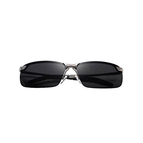 H.ZHOU Sonnenbrille männlich Driver Mirror polarisierte Fahr Sonnenbrille Sonnenbrille männlichen Angeln Gläser (Farbe : 4)