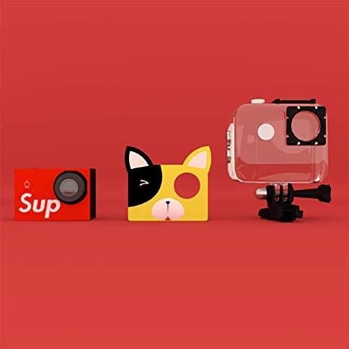 SHARESUN WiFi Sport SLR-Kamera, 20MP 1080P HD Digital Anti-Drop Kinder Digitalkamera Camcorder mit 16 GB TF-Karte enthalten, kreative Geburtstagsgeschenke für Kinder,Yellow