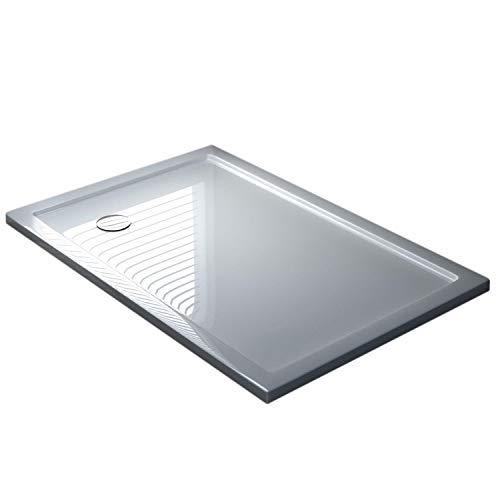 Duschwanne 70x100x4 Acryl Rechteckig Mod. UltraFlat