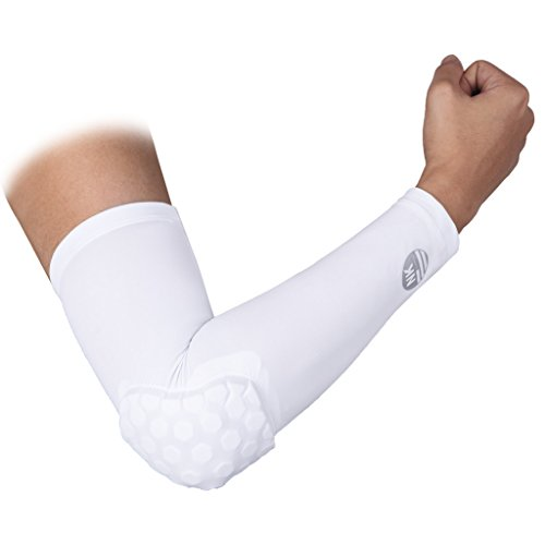 DODOING Hex Pad Arm Sleeves Anti Rutsh für Erwachsene Kinder Sports Basketball Power Shootor (Jugend-softball-hose Schwarz)
