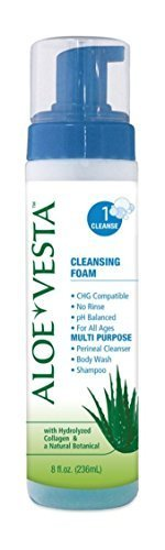 model325208-aloe-vesta-no-rinse-3-in-1-cleansing-foam-8oz-case-of-12-pump-bottles-by-convatec