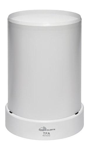 TFA Dostmann Weatherhub Stazione meteo con pluviometro SmartHome e sensore supplementare, bianco