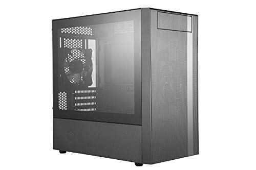 Cooler Master MasterBox NR400 MATX Mini-Tower with Mesh Ventilation, Minimal Design, and Tempered Glass Side Panel Case (Full Tower-cooler Master)