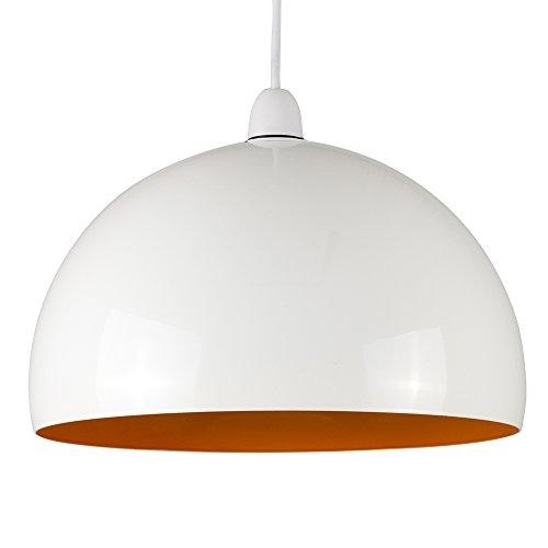 minisun-abat-jour-contemporain-pour-suspension-en-acier-blanc-brillant-avec-orange-a-linterieur-curv