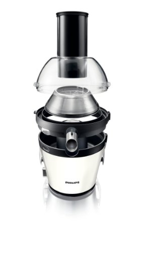 Philips HR1868/81 Avance Collection Quick Clean Juicer, 2.5 Litre, 900 Watt - White