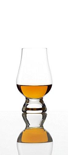 Whisky Glencairn Glas 190ml, 4er Set Whiskygläser, spülmaschinentauglicher Tumbler, hochwertige Qualität