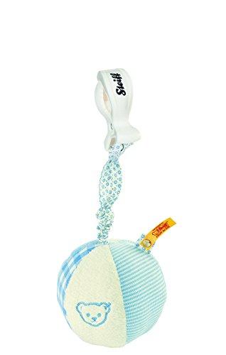 Steiff 205309 - Rassel-Knister Ball, 9 cm, blau
