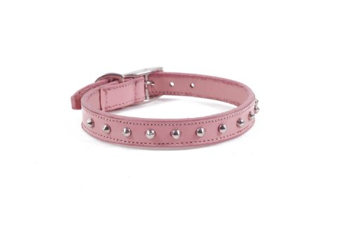 real-leather-small-dog-studded-design-collar-12-14-neck-size-pink
