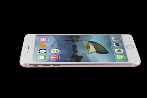 OTAO bianco Premium Apple Iphone 6 6s bordo curvo temperato