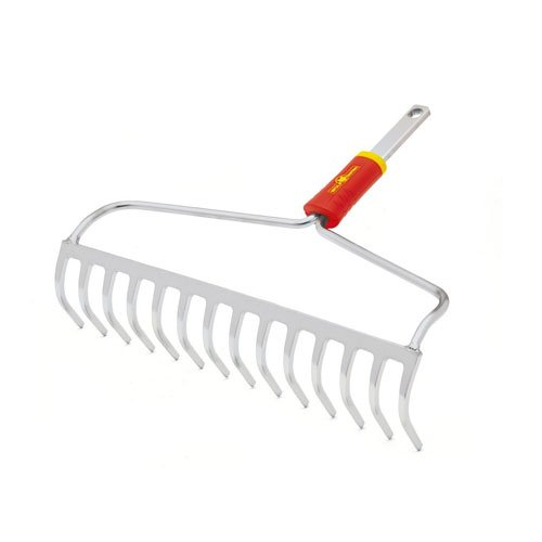 This Wolf-Garten DOM40 40 cm Multi-Change Bow Rake is part of the company's Multi-Change range. It comes as a head only meaning you will have to find a suitable shaft to use with. You can choose from a range of Wold Garten handles, which include aluminium and ash products. That means you can also choose an ideal length for your height and avoid back problems.