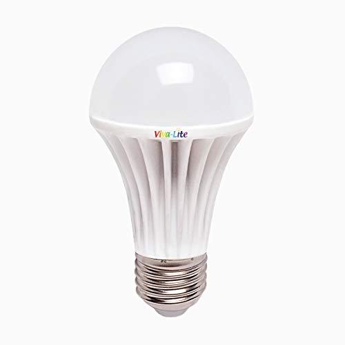 Viva-lite  lED 12 w lumière du jour à spectre complet, culot e27