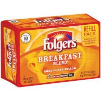 folgers-breakfast-blend-mild-roast-ground-coffee-1-x-refill-pack-brick-306g-american-imported