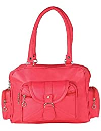 b237360c5243 Sameerr Collection Women Handbags With Beautiful Pink Color With Latest  Model E-13