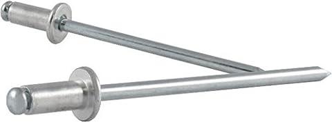 VVG Blindniet Alfo DIN EN ISO 14589 Niethülse D. x L. 6 x 8 mm Alu/Stahl Klemmbereich 1,0-3,5 mm, 500 Stück