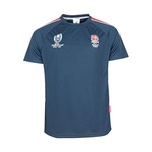 a106dcbbb2e869 RWC 2019 Mens England Rugby Centre Tech T-Shirt  Navy  - 4X-